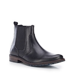 Buty męskie, czarny, 87-M-851-1-40, Zdjęcie 1