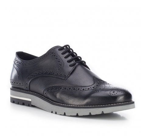 Buty męskie, czarny, 87-M-854-1-39, Zdjęcie 1