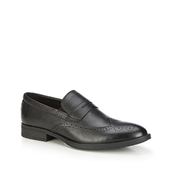 Buty męskie, czarny, 87-M-900-1-44, Zdjęcie 1