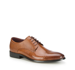 Buty męskie, brązowy, 87-M-911-5-43, Zdjęcie 1