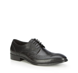 Buty męskie, czarny, 87-M-913-1-41, Zdjęcie 1