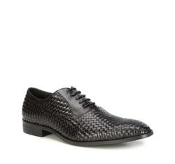 Buty męskie, czarny, 87-M-916-1-45, Zdjęcie 1