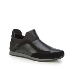 Buty męskie, czarny, 87-M-928-1-41, Zdjęcie 1