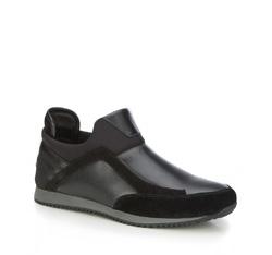 Buty męskie, czarny, 87-M-928-1-45, Zdjęcie 1