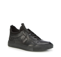 Buty męskie, czarny, 87-M-930-1-40, Zdjęcie 1