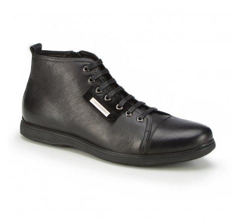 Buty męskie, czarny, 87-M-931-1-39, Zdjęcie 1