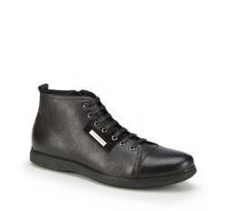 Buty męskie, czarny, 87-M-931-1-45, Zdjęcie 1