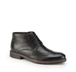 Buty męskie, czarny, 87-M-936-1-45, Zdjęcie 1