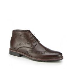 Men's shoes, brown, 87-M-936-4-41, Photo 1