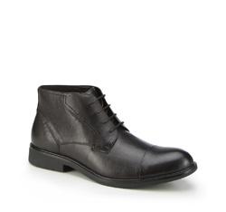 Buty męskie, czarny, 87-M-937-1-45, Zdjęcie 1