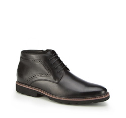 Buty męskie, czarny, 87-M-938-1-41, Zdjęcie 1