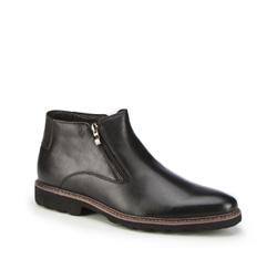 Buty męskie, czarny, 87-M-941-1-45, Zdjęcie 1