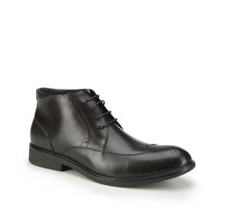 Buty męskie, czarny, 87-M-944-1-45, Zdjęcie 1