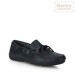 Men's shoes, navy blue, 88-M-350-7-44, Photo 1
