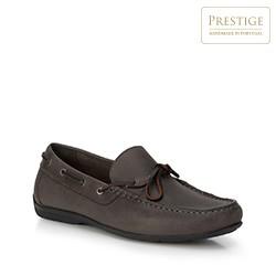 Men's shoes, grey, 88-M-350-8-44, Photo 1