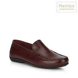 Men's shoes, burgundy, 88-M-352-2-43, Photo 1