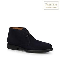 Men's shoes, navy blue, 88-M-450-7-41, Photo 1