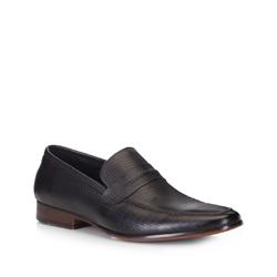 Men's shoes, black, 88-M-500-1-39, Photo 1
