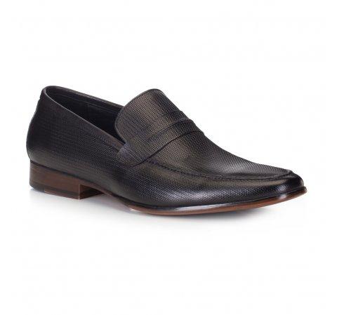 Buty męskie, czarny, 88-M-500-1-39, Zdjęcie 1