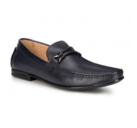 Men's shoes, navy blue, 88-M-800-7-42, Photo 1