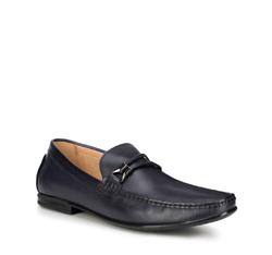 Men's shoes, navy blue, 88-M-800-7-44, Photo 1