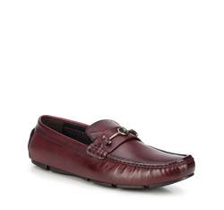 Men's shoes, burgundy, 88-M-801-2-45, Photo 1