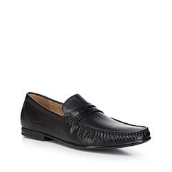 Buty męskie, czarny, 88-M-802-1-39, Zdjęcie 1