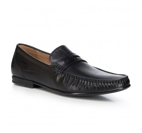 Buty męskie, czarny, 88-M-802-1-40, Zdjęcie 1