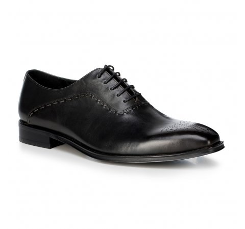 Buty męskie, czarny, 88-M-813-1-40, Zdjęcie 1