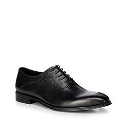 Buty męskie, czarny, 88-M-813-1-45, Zdjęcie 1