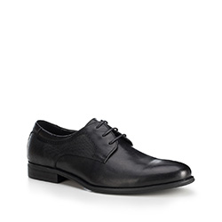 Men's shoes, black, 88-M-814-1-44, Photo 1