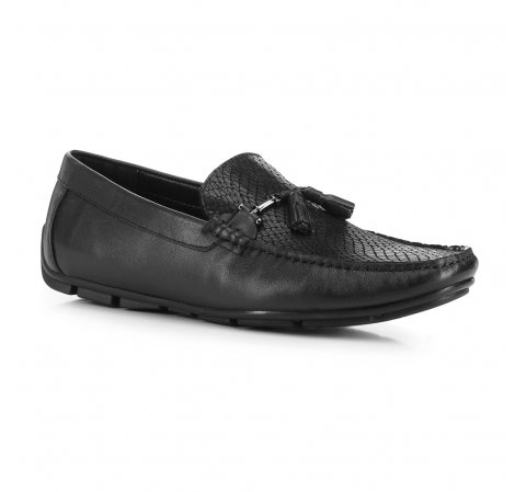 Men's shoes, black, 88-M-902-1-40, Photo 1