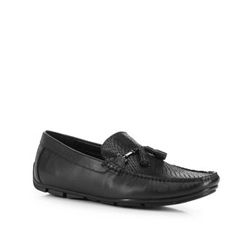 Men's shoes, black, 88-M-902-1-41, Photo 1