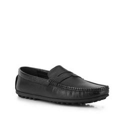 Buty męskie, czarny, 88-M-903-1-39, Zdjęcie 1