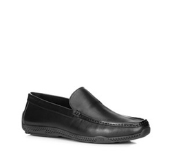 Men's shoes, black, 88-M-906-1-40, Photo 1