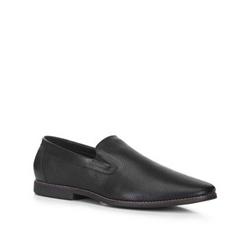 Buty męskie, czarny, 88-M-907-1-45, Zdjęcie 1