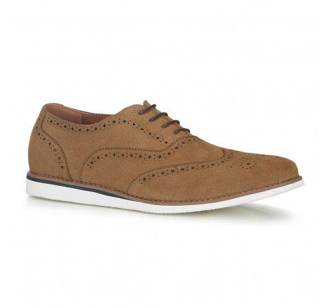 Buty męskie, beżowy, 88-M-912-9-39, Zdjęcie 1