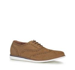 Men's shoes, beige, 88-M-912-9-41, Photo 1