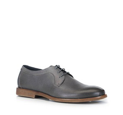 Men's shoes, grey, 88-M-914-8-41, Photo 1