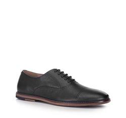Men's shoes, black, 88-M-915-1-40, Photo 1