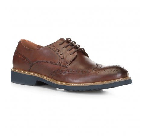 Buty męskie, Brązowy, 88-M-916-4-40, Zdjęcie 1