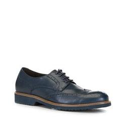 Men's shoes, navy blue, 88-M-917-7-40, Photo 1
