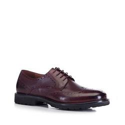Buty męskie, bordowy, 88-M-919-2-45, Zdjęcie 1