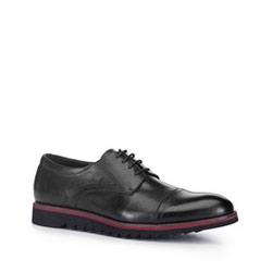 Men's shoes, black, 88-M-921-1-40, Photo 1