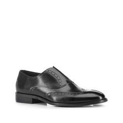 Men's shoes, black, 88-M-923-1-41, Photo 1