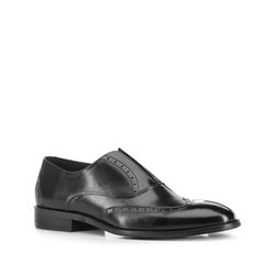 Men's shoes, black, 88-M-923-1-44, Photo 1