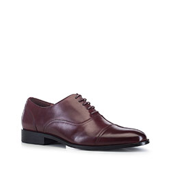 Men's shoes, burgundy, 88-M-925-2-45, Photo 1