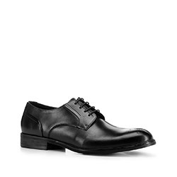 Men's shoes, black, 88-M-926-1-41, Photo 1