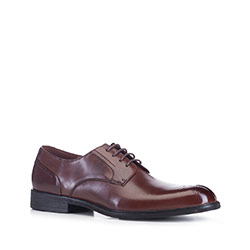 Men's shoes, brown, 88-M-926-4-45, Photo 1