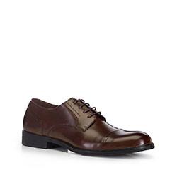 Buty męskie, brązowy, 88-M-927-5-45, Zdjęcie 1